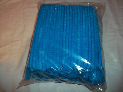 100 Arco BLUE Mob Cap / hat one size disposable ideal spray tan FREE POST