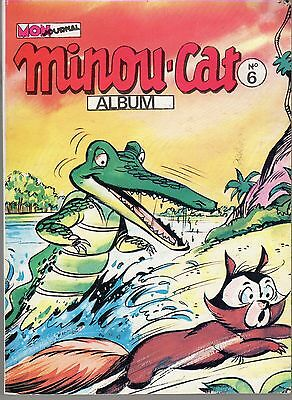 Minou Cat Album 6 (21/22/23/24) Mon Journal 1976 Rare Tbe