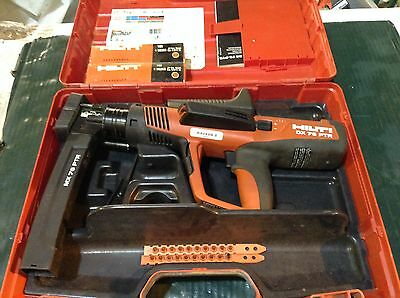 Hilti DX 76-MX Powder-Actuated Fastening Tool, Includes Case and Cartridges