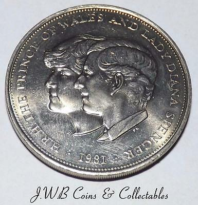 1981 Prince Charles & Lady Diana Spencer Wedding Commemorative Crown Coin