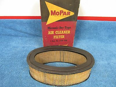 1957 Plymouth Fury  Dual 4 Barrel Air Cleaner Filter  Nos Mopar  1115