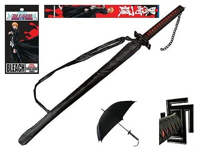 "Bleach Official Licensed 41"" Umbrella Japanese Anime Ichigo Kurosaki Cosplay"