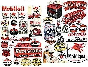 Jl Innovative Design Ho Scale Gas Station & Oil Posters | Bn | 184
