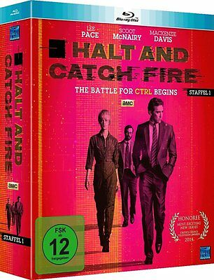 Halt And Catch Fire The Battle For Crtl Begins Staffel 1 Episoden 1-10 Blu-Ray