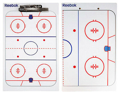 CCM Ice Hockey Coaching / Tactic Board With Clip & Pen - 16 x 10 inches