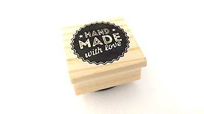 East of India Rubber Stamp - HAND MADE with love