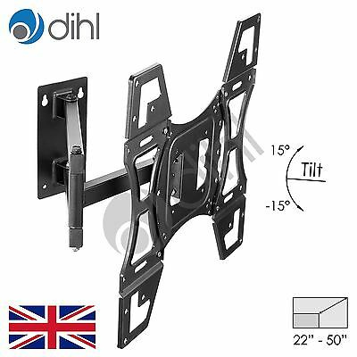 "Swivel Tilt Wall Mount Bracket For 22 26 32 40 42 46 48 50"" TV LED LCD 3D VESA"