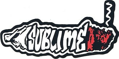 SUBLIME smoking blunt STICKER **FREE SHIPPING** -c s7582 hemp joint weed 420