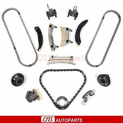 For Buick Cadillac CTS SRX STS Saab Suzuki 2.8L 3.6L 04-07 DOHC Timing Chain Kit
