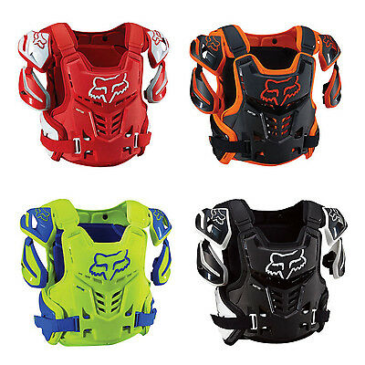 Fox Head Racing Adult RAPTOR CE Roost Deflector Check Protector Motocross 12351