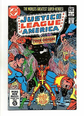 Justice League of America Vol 1 No 192 Jul 1981 (VFN+) Modern Age, Cents Copy