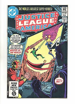 Justice League of America Vol 1 No 199 Feb 1982 (VFN+) Modern Age (1980 - Now)