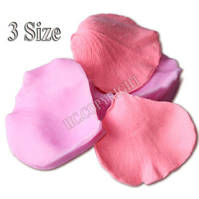 Exquisite Silicone Rose Petal Fondant Cake Mould Sugarcraft Baking DIY Mold Tool