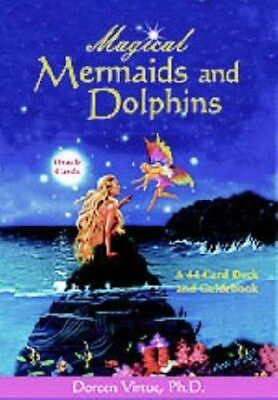 Magical Mermaids and Dolphins Oracle Cards 9781561709793 by Doreen Virtue, Cards