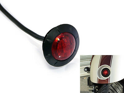 "2"" / 50mm Stop Tail Light for Rear Mudguard of Motorbike Motorcycle Cafe Racer"