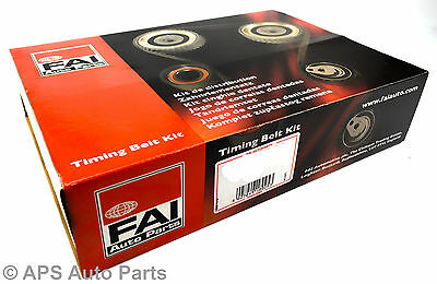 Ford Focus Mondeo TDCi 1.8 Timing Belt Kit Engine Two Belts Wet Dry Pulley Gear