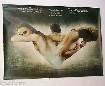 Affiche  : Teatr Wspotczesny : Twelfth Night Or What You Will 1981