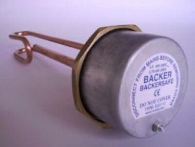 "Backer 23"" Immersion Heater with Thermostat"
