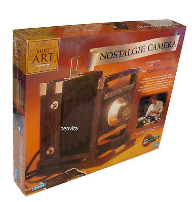 Built Art Collection - Nostalgie Camera aus Papier Hasbro 16+ - Neu