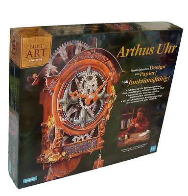 Built Art Collection - Arthus Uhr aus Papier Hasbro 16+ - Neu