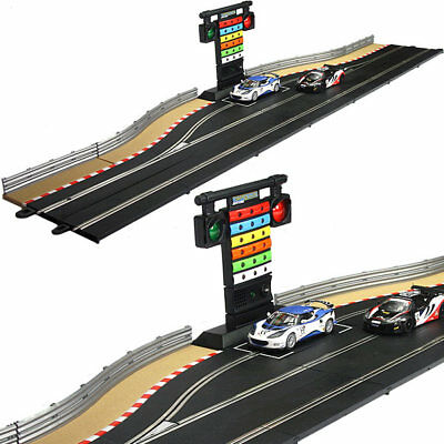 SCALEXTRIC Digital C9161J Pit Lane Game C7041 and Right Hand Track Kit