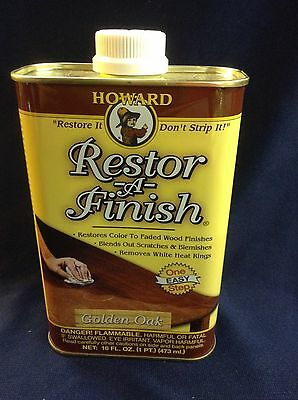 New Howard Restor-A-Finish, 16-Ounce Golden Oak