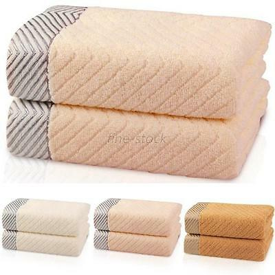 Super Soft Absorbent 100% Cotton Cleaning Face Hand Towel Large Bath Towels F93