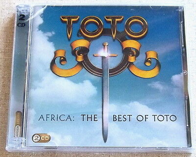 TOTO Africa: The Best Of 2 CD SOUTH AFRICA Cat# CDCOL7234