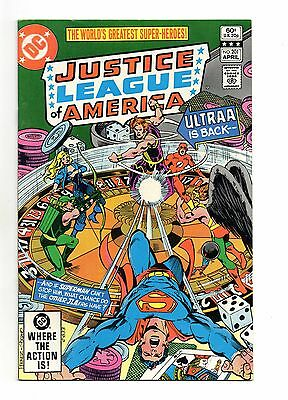 Justice League of America Vol 1 No 201 Apr 1982 (VFN+) Modern Age (1980 - Now)