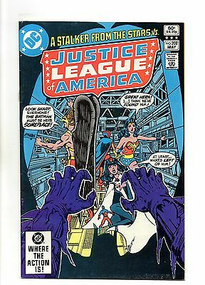Justice League of America Vol 1 No 202 May 1982 (VFN+) Modern Age (1980 - Now)
