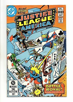 Justice League of America Vol 1 No 204 Jul 1982 (VFN+) Modern Age (1980 - Now)
