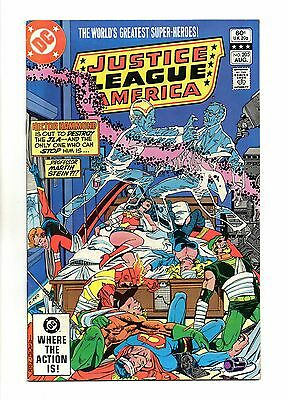 Justice League of America Vol 1 No 205 Aug 1982 (VFN+) Modern Age (1980 - Now)