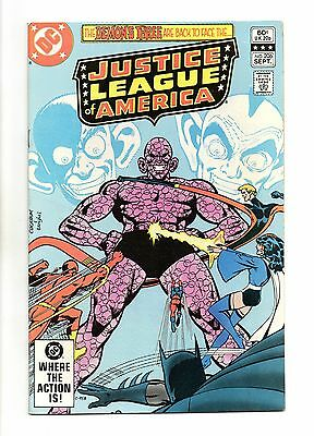 Justice League of America Vol 1 No 206 Sep 1982 (VFN+) Modern Age (1980 - Now)