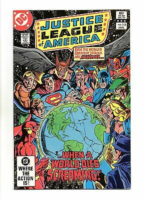 Justice League of America Vol 1 No 210 Jan 1983 (VFN+) Modern Age (1980 - Now)