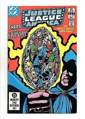 Justice League of America Vol 1 No 214 May 1983 (VFN+) Modern Age (1980 - Now)