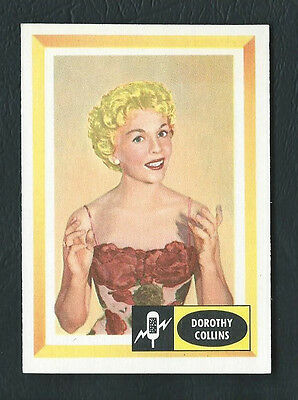 Dorothy Collins 1960 Spins and Needles Card #8