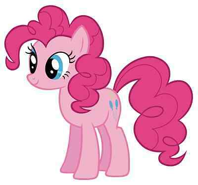 """Pinkie Pie My Little Pony Iron On Transfer 5""""x5.25"""" for LIGHT Colored Fabric"""