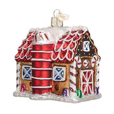 """Gingerbread Barn"" (20070) Old World Christmas Ornament"