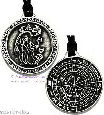 1 x DIVINATION DISK OF PERGAMON Wicca Pagan Witch Occult Goth ENHANCE PSYCHIC