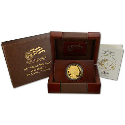 2009-W American Gold Buffalo Proof (1 oz) $50