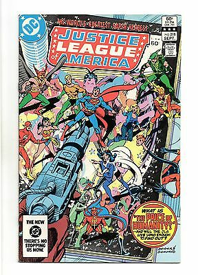Justice League of America Vol 1 No 218 Sep 1983 (VFN+) Modern Age (1980 - Now)