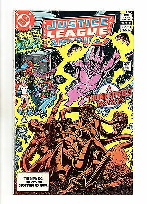 Justice League of America Vol 1 No 219 Oct 1983 (VFN+) Modern Age (1980 - Now)