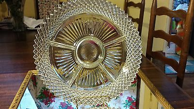 Anchor Hocking Miss America 5 Section Relish Tray