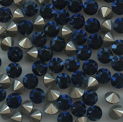 1028 SS34 B *** 12 Strass Swarovski  7,2mm CRYSTAL METALLIC BLUE F