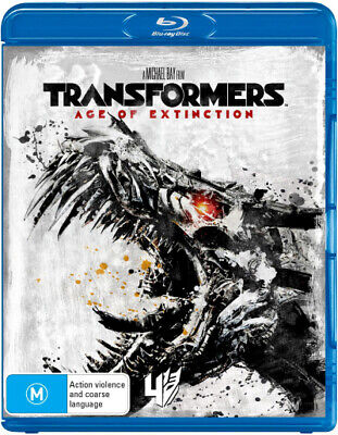 Transformers - Age Of Extinction Blu-ray Region B New!