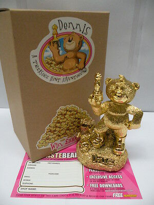 Bad Taste Bears Figurine * GOLDEN DOUG * Funny Collectable Figure - NEW
