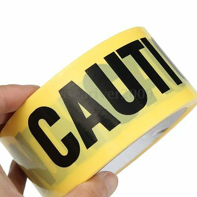 50mx5cm Yellow Caution Tape Sticker For Safety Barrier Police Barricade Warning