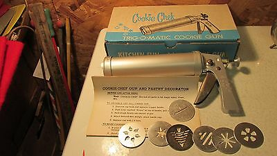 Cookie Chef Cookie Gun Set  No. 90