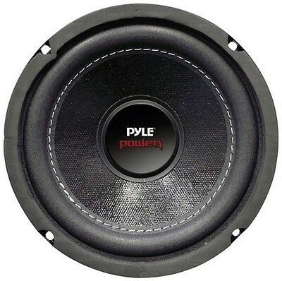 "Pyle PLPW6D 6.5"" 600W Max 4Ohm Subwoofer-Sold Each"