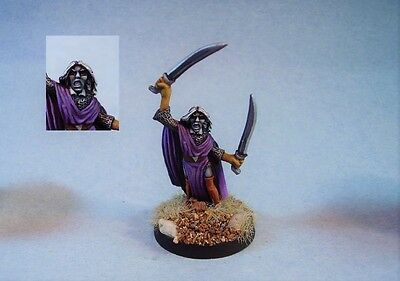 Ral Partha painted miniature Drow Warrior
